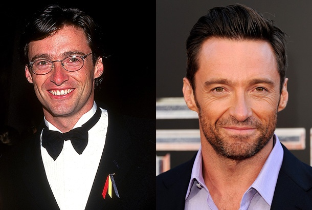 Image result for Hugh Jackman then and now
