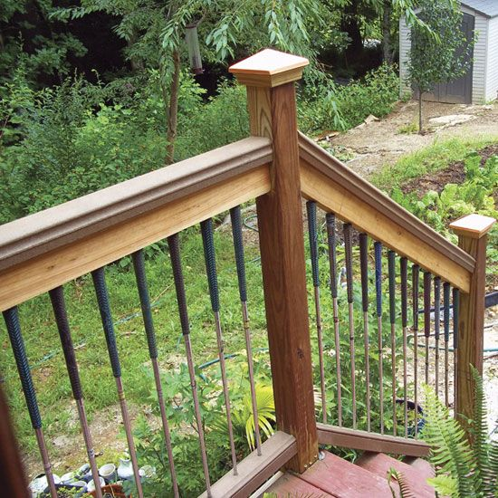 Make Deck Balusters From Used Golf Clubs - DIY - MOTHER EARTH NEWS