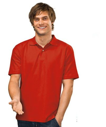 Hanes® Men's Heavyweight Polo Shirts - buy online bulk wholesale Australia. 170 gsm 100% deluxe pre-shrunk cotton pique knit - taped neck for comfort - double-needle stitched sleeves and hems -  black opal | blue midnight | bright royal | khaki | light blue | navy blue | scarlet red | white. Available from blankclothing.com.au - the home of blanks in Australia.