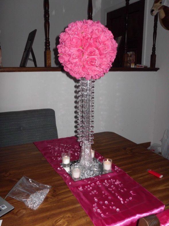Eiffel Tower Vases 24 Clear Wedding Eiffel Tower