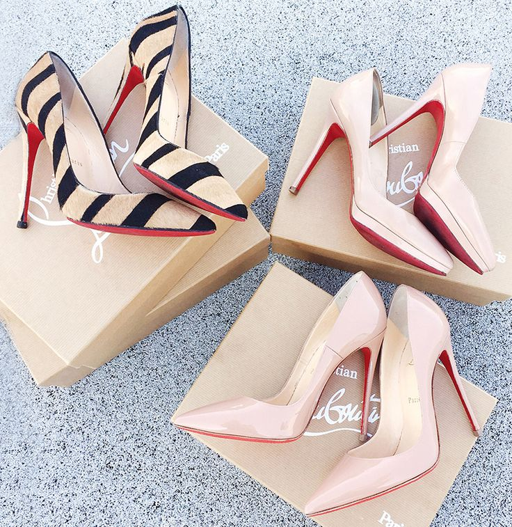 Louboutins (and how to properly take care of your designer heels) More