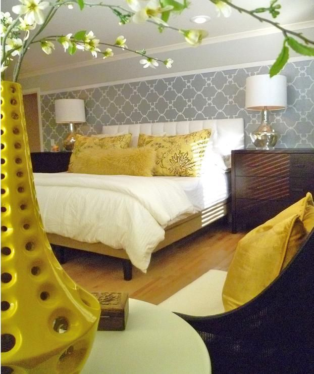 1000+ Ideas About Gray Yellow Bedrooms On Pinterest