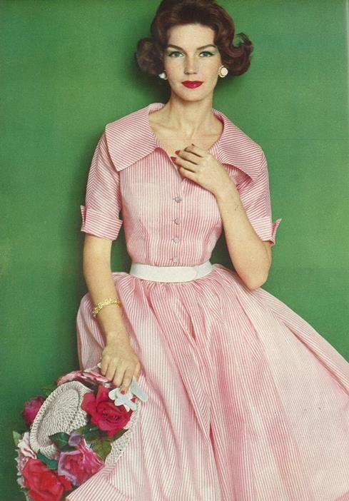 Vogue Pattern Book, June 1958