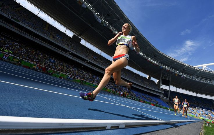 Laura Whittle of Great Britain competes during the women's 5000m round 1, Aug…