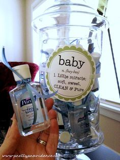 Homemade Baby Shower Favors