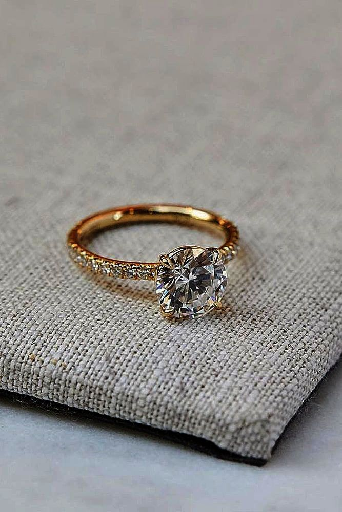 Sterling Silver Gold Plated Citrine Vintage Jewelry Rings