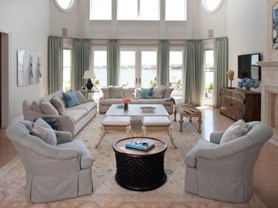 25 Best Ideas About Long Living Rooms On Pinterest Long Livingroom Neutral Furniture