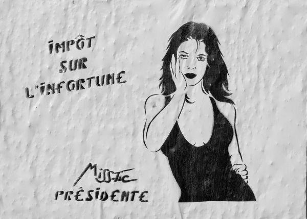 """Miss Tic présidente 2007 """" Impôt sur l'infortune """""""