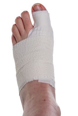 Turf Toe Taping Step 7 | Physical Sports First Aid
