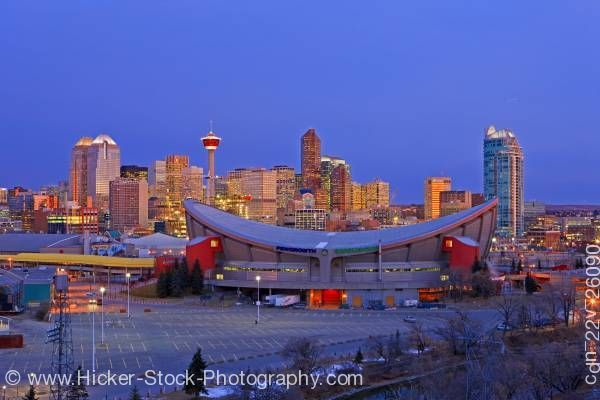 The Saddle Dome. home of the Calgary Flames.