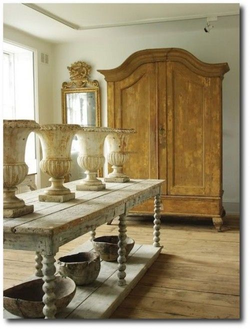 French Armoire: ANY room From the KITCHEN for dishes, to the BEDROOM for clothes, to the BATHROOM for linens...