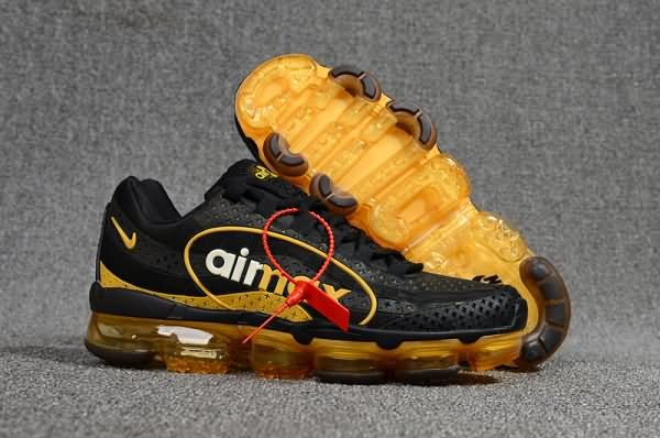 best sneakers d0f77 8e8a0 Cheap Nike Air Max 95+18 VaporMax Black Gold Mens shoes To Worldwide and Free  Shipping WhatsApp 8613328373859
