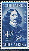 South Africa 1952 Van Riebeeck SG 139 Fine Mint SG 139 Scott 118 Condition Fine MNH Only one post charge applied on multipule purchases Details Ship