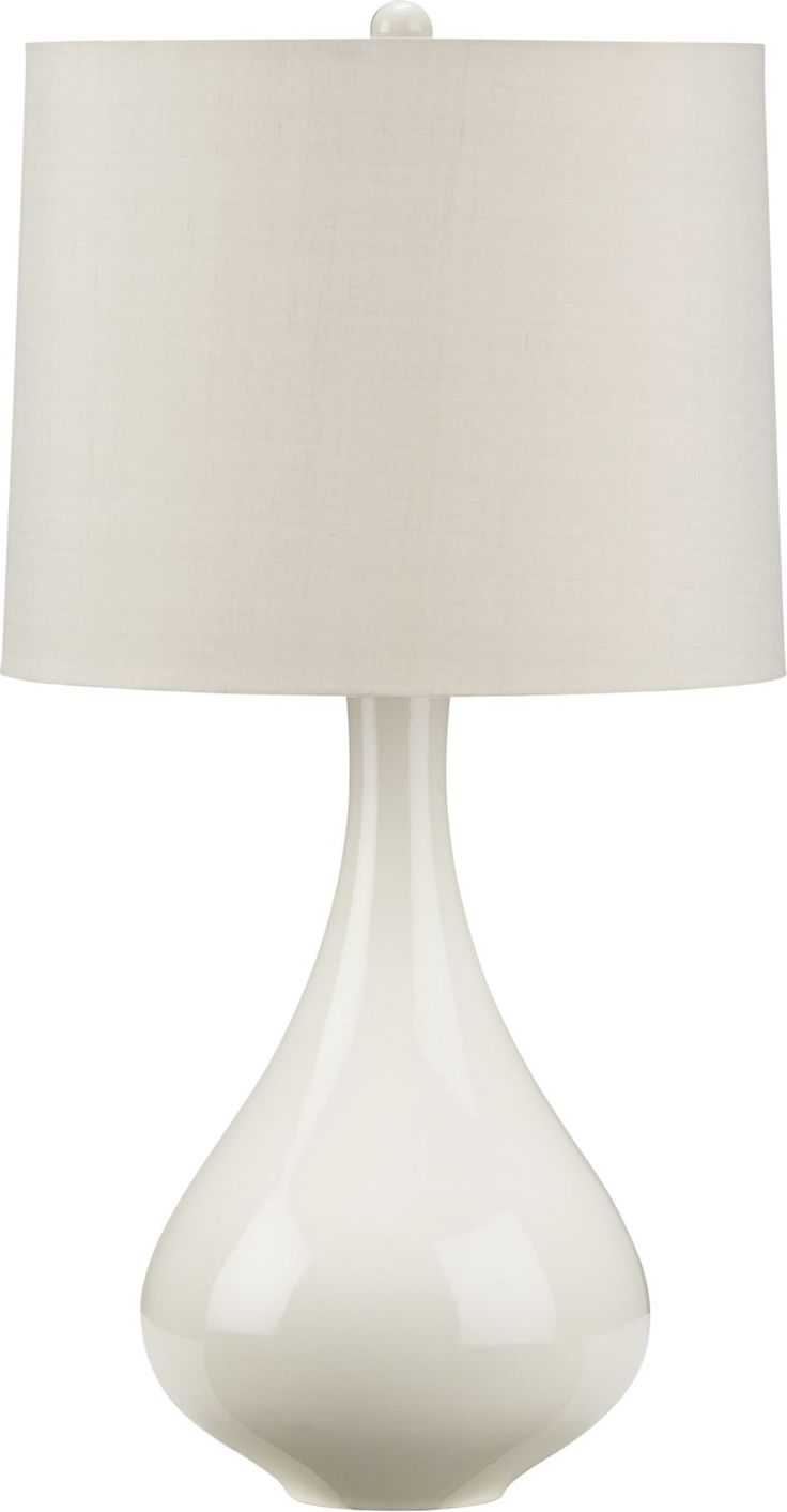 Kathryn Table Lamp in Table, Desk Lamps | Crate and Barrel-another great choice for the living room--a pair