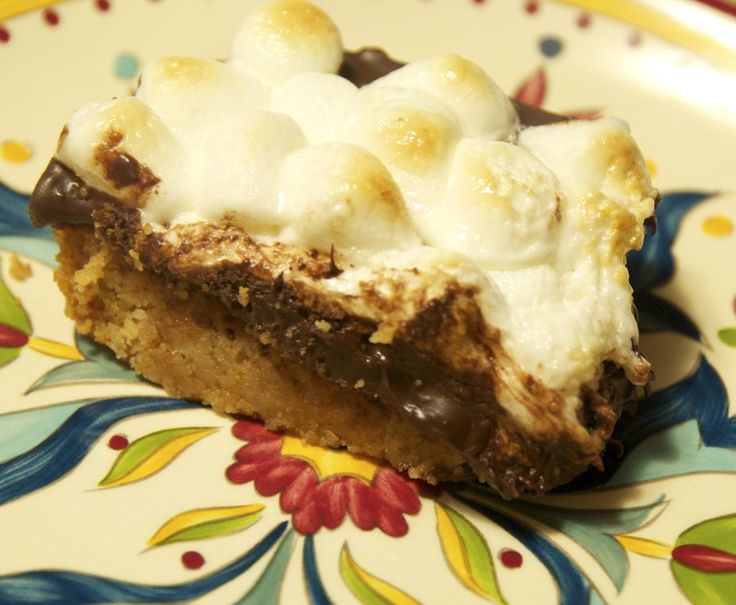 S'mores Bars recipe is quick and easy. Ooey, gooey chocolate and marshmallow goodness.