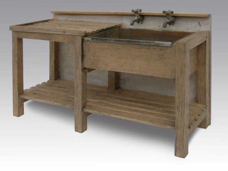 Garage Sink Unit : Sink Unit by Country Treasures. My Miniatures - Workshop/Garage ...