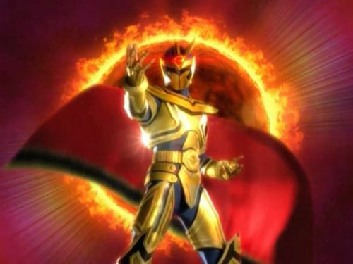 Power Rangers Mystic Force Solaris Knight | Solaris Knight, what an entrance!
