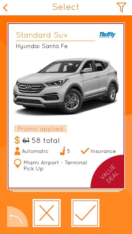 Rent a Car in Miami Car rental app, Car rental, Car