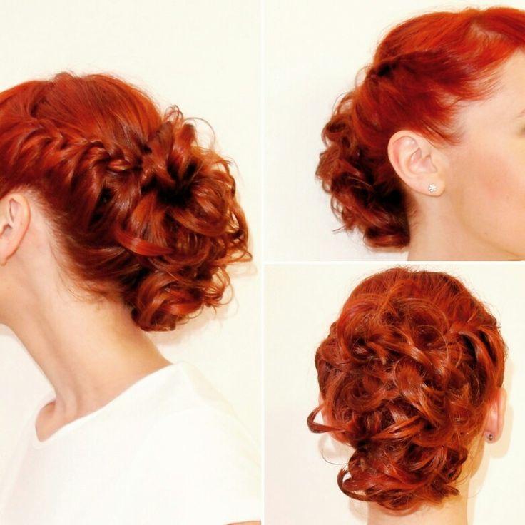 Peinado Recogido realizado por Eva Tangol