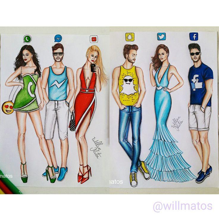 #redessociais #snapchat #facebook #whatsapp #mensseger #youtuber #twitter…