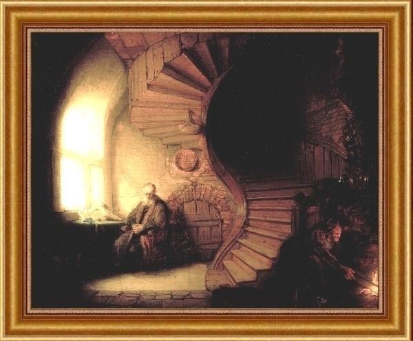 Rembrant - Philosopher in Meditation