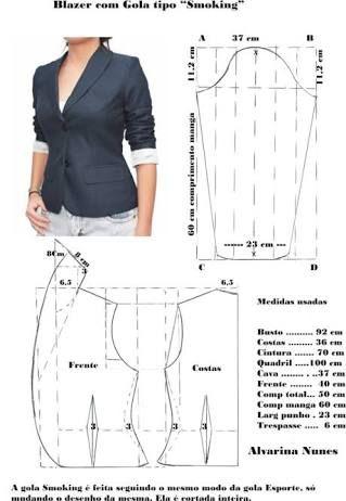 Resultado de imagem para moldes camisetas femininos