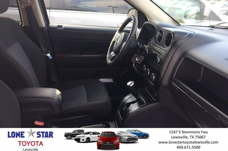 Great Jeep for a great price! The Jeep Compass is a great vehicle for those first time buyers with its low low price and a great vehicle for those Jeep brand enthusiast  https://deliverymaxx.com/DealerReviews.aspx?DealerCode=E208  #2012 #Jeep #Compass #silver #LoneStarToyotaofLewisville