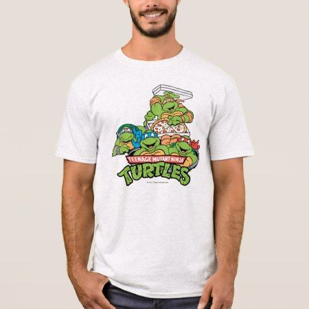 TMNT   It's Pizza Time T-Shirt - click to get yours right now!