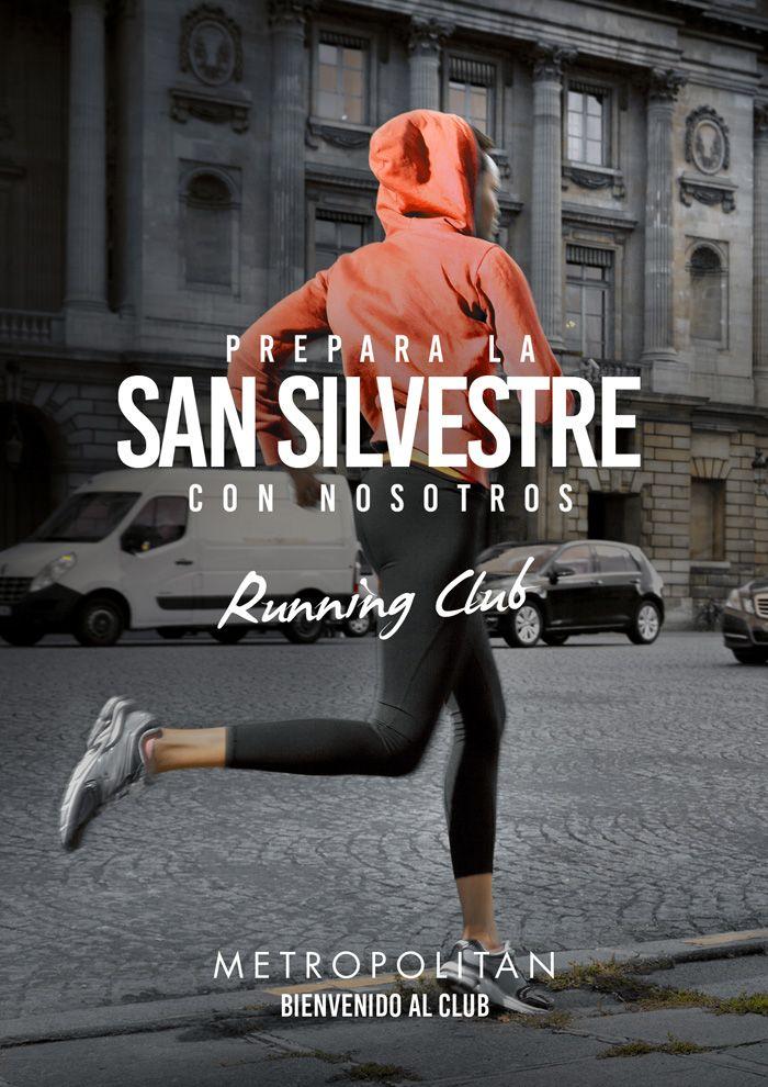 Prepárate con Metropolitan Abascal para la San Silvestre de Madrid.