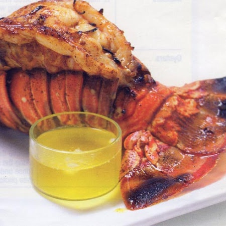 Broiled Lobster Tails with Garlic-Chili Butter Recipe | Key Ingredient