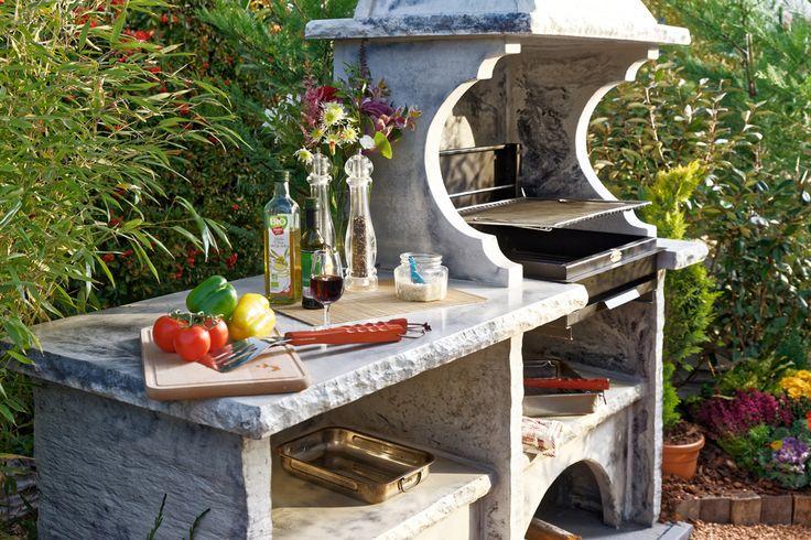 Oltre 1000 idee su barbecue en pierre su pinterest - Cuisine d ete en pierre reconstituee ...