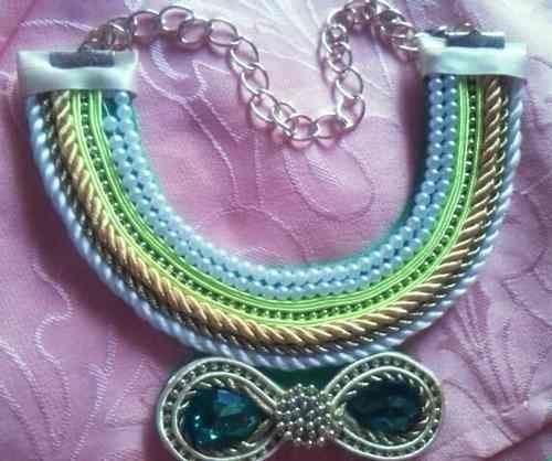 Maxi Collares Modernos Y Bellos