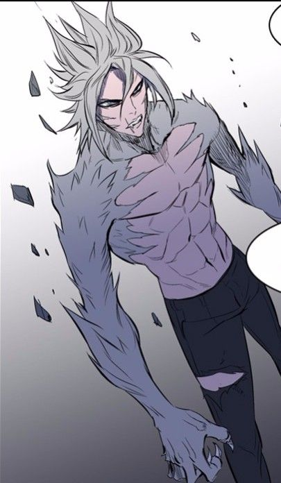 Noblesse - M-21's transformation. Not sure how I feel ...