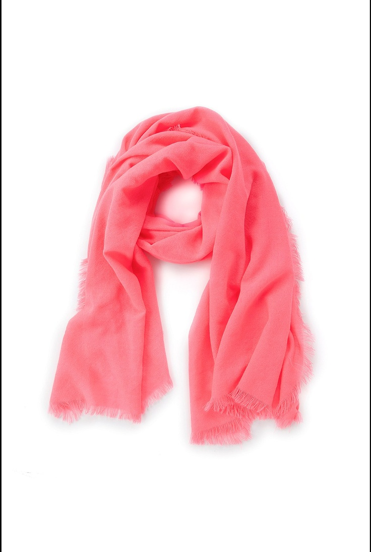 Country Road - Fluro Pink Scarf