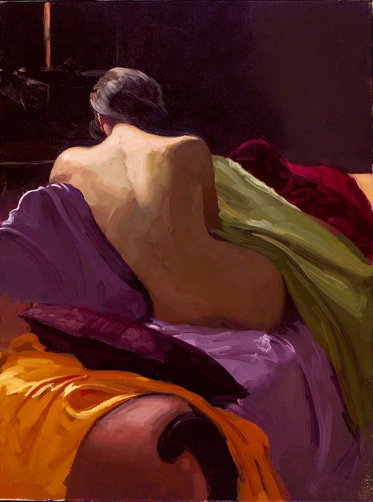 """Dennis Perrin """"From the Back"""" , amazing colors"""