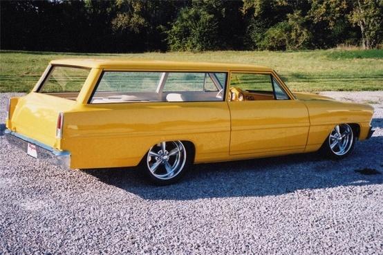1967 Chevrolet Nova custom station wagon.