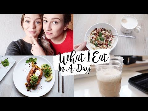 WHAT I EAT IN A DAY | Einfache & leckere Rezepte - YouTube