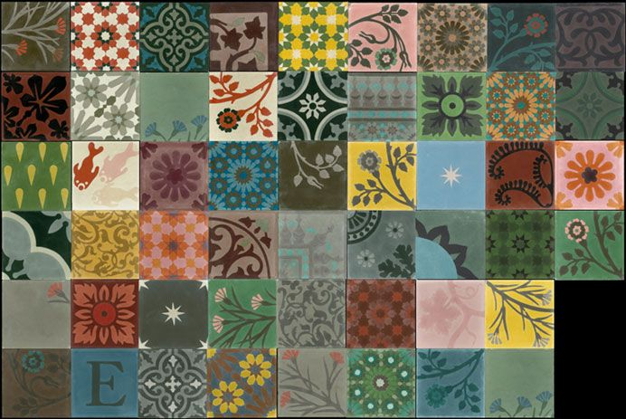 Emery cie tiles cement models patchwork definition page 03 - Emery cie carrelage ...