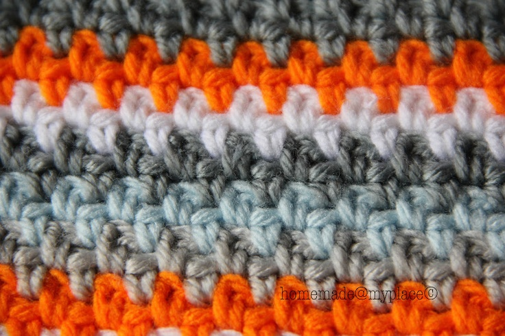 ... about CROCHET - MOSS STITCH on Pinterest The stitch, Wool and Lakes