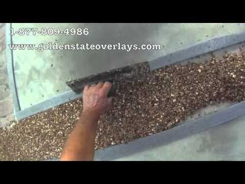 Pebblestone Flooring Do It Yourself Installation Youtube Remodel Pinterest