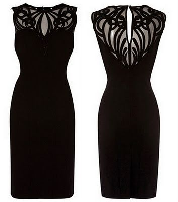 Karen Millen LBD/ I like the coutouts on this dress. Another idea for March's fancy dress needed.