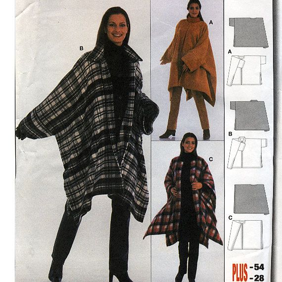 Perfect Patterns For Ponchos To Sew Frieze - Easy Scarf Knitting ...