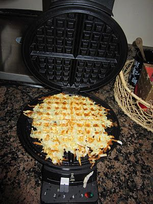 Waffle HashBrowns - Eclectic Momsense