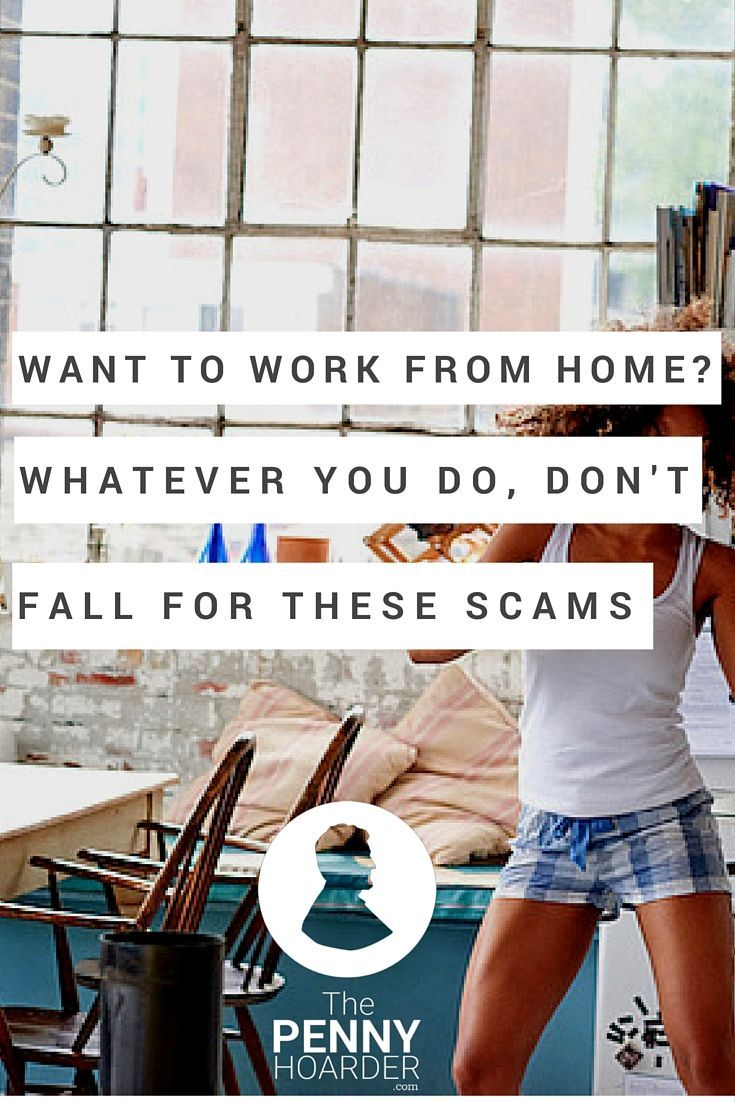 Ever thought about how work-from-home scams work? And whether people actually fall for them? NPR investigated, and the results are pretty scary. - The Penny Hoarder http://www.thepennyhoarder.com/work-from-home-scams/
