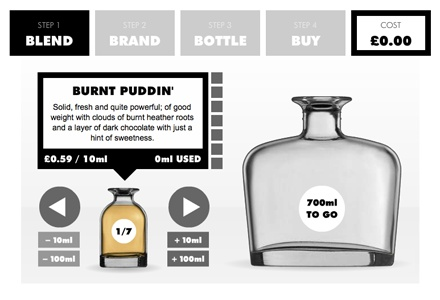 DESIGN YOUR OWN WISKY