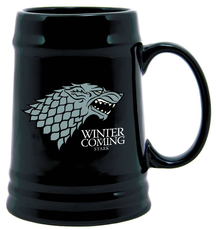 Come refresh yourself with a long drink from custom glassware emblazoned with the house sigil of the Starks of Winterfell. Your thirst will be quenched. Permanently!