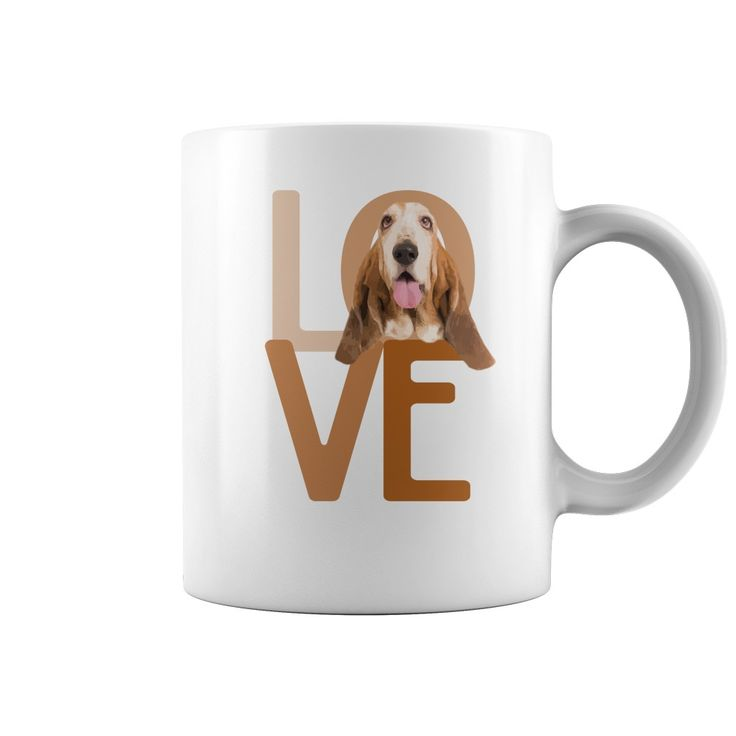 BASSET LOVE MUG - BASSET LOVE MUG!Enjoy your love for your awesome Basset Hound with your morning coffee! Perfect gift for Basset lovers!  #Basset Hound #Basset Houndshirts #iloveBasset Hound # tshirts