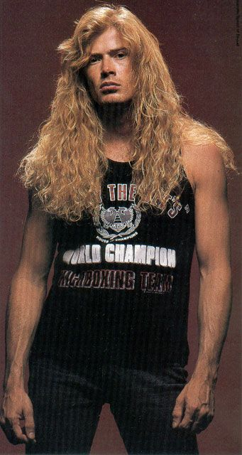 Dave Mustaine - Megadeath \m/(^^)\m/
