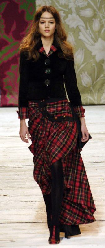 Plaid...THAT decade
