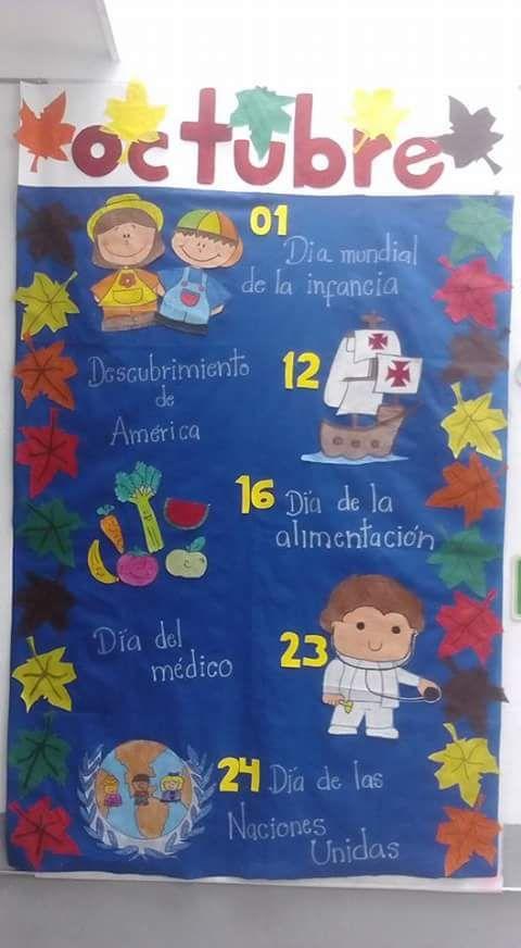 M s de 25 ideas nicas sobre periodico mural octubre en for Q es periodico mural